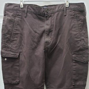Levis Brown Cargo Ankle Band Pants 38 x 32